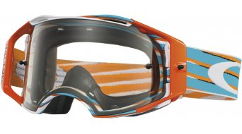 Oakley Airbrake MX Goggle nemesis orange/blue/clear