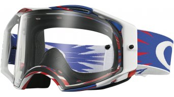 Oakley Airbrake MX Goggle high voltage rwb/clear