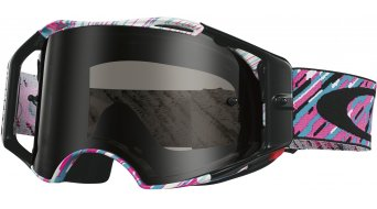 Oakley Airbrake MX Goggle rain of terror pink/blue/dark grey