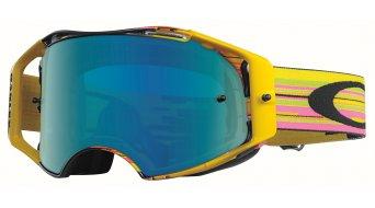 Oakley Airbrake MX Goggle glitch pyg/jade iridium