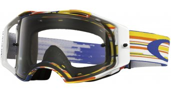 Oakley Airbrake MX Goggle glitch bog/clear