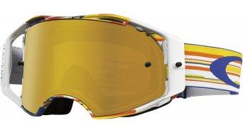 Oakley Airbrake MX Goggle glitch bog/fire iridium