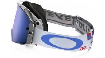 Oakley Airbrake MX Goggle high octane red white blue/black ice iridium