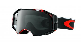 Oakley Airbrake MX Goggle block pass red/dark grey