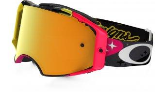 Oakley Airbrake MX Goggle cosmic camo neon/24k iridium