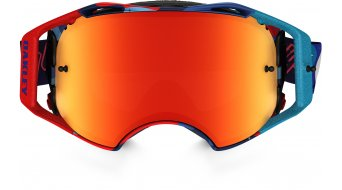 Oakley Airbrake MX Goggle cosmic camo red white blue/fire iridium