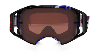 Oakley Airbrake MX Goggle block pass RWB/dark grey