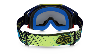 Oakley Airbrake MX Goggle starbust yellow blue/24K iridium - Troy Lee Designs Series