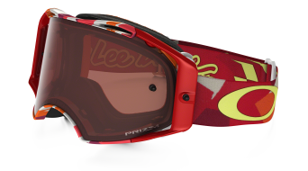 Oakley Airbrake MX Goggle splinter orange/prizm mx bronze - Troy Lee Designs Series