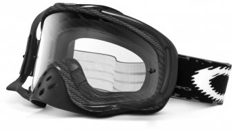 Oakley Crowbar MX Goggle true carbono fiber/clear
