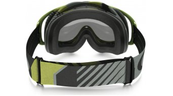 Oakley Crowbar MX Goggle biohazard verde/grey/clear