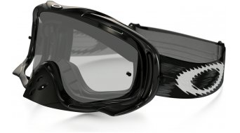 Oakley Crowbar MX Goggle jet negro speed/clear