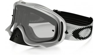 Oakley Crowbar MX Goggle matte blanco speed/clear
