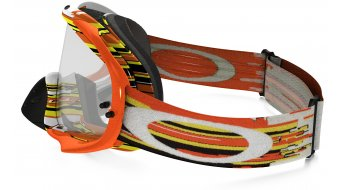 Oakley Crowbar MX Goggle glitch naranja/amarillo/clear