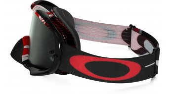 Oakley Crowbar MX Goggle block pass rojo/dark grey