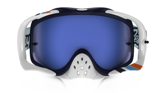 Oakley Crowbar MX Goggle TLD corse blanco/ice iridium- Troy Lee Designs Series
