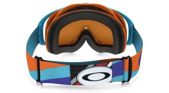 Oakley Crowbar Mx Goggle heritage racer arancione/ice iridium