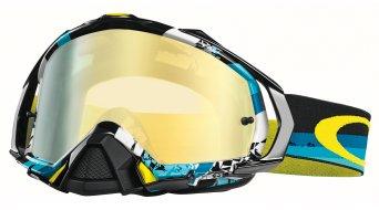 Oakley Mayhem Pro MX Goggle legacy blue/24k iridium