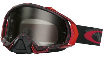 Oakley Mayhem Pro MX Goggle reaper blood rojo/dark grey