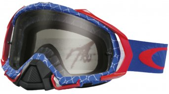 Oakley Mayhem Pro MX Goggle reaper rwb/dark grey