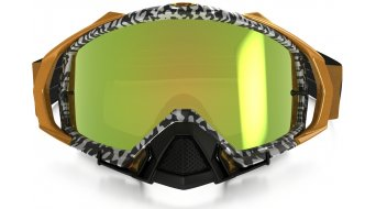Oakley Mayhem Pro MX Goggle viper room white gold/24k iridium