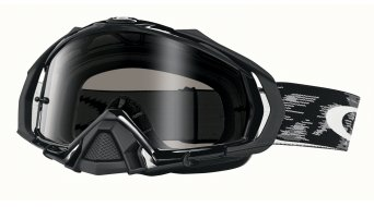 Oakley Mayhem Pro MX Goggle jet negro/dark grey
