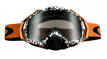 Oakley Mayhem Pro MX Goggle viper room blanco dorado(-a)/dark grey