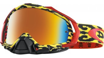Oakley Mayhem Pro MX Goggle cheetah amarillo/fire