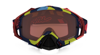 Oakley Mayhem Pro MX Goggle phantom RYB/prizm mx bronze- Troy Lee Designs Series