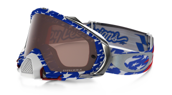 Oakley Mayhem Pro MX Goggle glory RWB/prizm mx negro- Troy Lee Designs Series