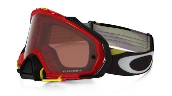 Oakley Mayhem Pro MX Goggle heritage racer red/prizm mx bronze