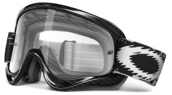Oakley sin Frame MX Goggle true carbono fiber/clear