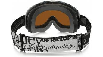 Oakley O Frame MX Goggle tagline black/white/black iridium