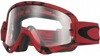 Oakley O Frame Mx Goggle intimidator red/black/clear