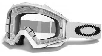 Oakley Proven MX Goggle matte white/clear