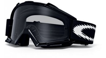 Oakley Proven MX Goggle jet negro/grey & clear