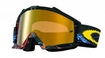 Oakley Proven MX Goggle fire skull sprocket/fire iridium