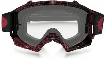 Oakley Proven MX Goggle tagline red/black/clear