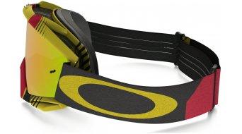 Oakley Proven MX Goggle biohazard red/yellow/fire iridium