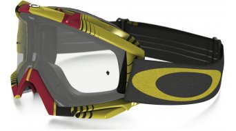 Oakley Proven MX Goggle biohazard red/yellow/clear