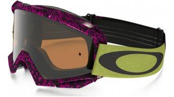Oakley Proven MX Goggle viper room neon/black iridium