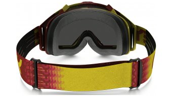 Oakley Proven MX Goggle factory fade red/yellow/fire iridium