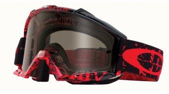 Oakley Proven MX Goggle tagline red/black/grey & clear