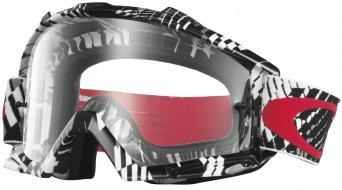Oakley Proven MX Goggle podium check red/black/clear