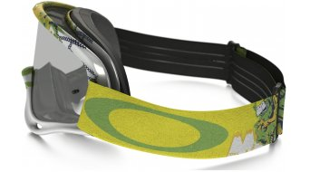 Oakley XS O Frame MX Goggle monster green/clear