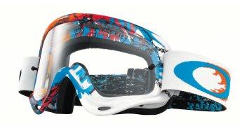Oakley XS sin Frame MX Goggle monster rwb/clear
