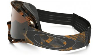Oakley XS O Frame Mx Goggle digi-slash arancione/black iridium