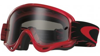 Oakley XS O Frame MX Goggle high voltage red/clear