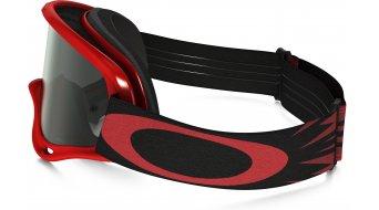 Oakley XS sin Frame MX Goggle high voltage rojo/dark grey & clear