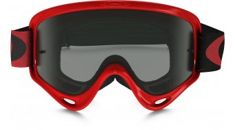 Oakley XS O Frame Mx Goggle high voltage red/dark grey & clear
